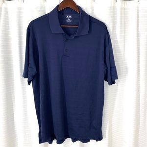Adidas Blue Chevron Golf Polo Shirt